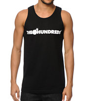 The Hundreds Forever Bar Black Tank Top