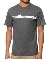 The Hundreds Forever Bar Charcoal T-Shirt