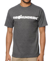 The Hundreds Forever Bar Charcoal Tee Shirt