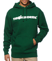 The Hundreds Forever Bar Dark Green Hoodie