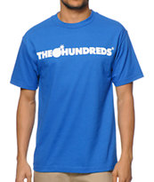 The Hundreds Forever Bar Royal Blue Tee Shirt