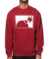 The Hundreds Forever Half Bomb Crew Neck Sweatshirt