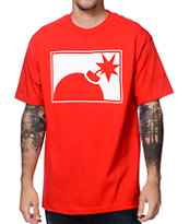 The Hundreds Forever Half Bomb Red Tee Shirt