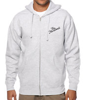The Hundreds Forever Slant Zip Up Hoodie