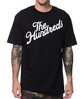 The Hundreds Forever Stop It Slant Black Tee Shirt