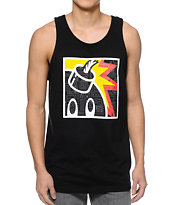 The Hundreds Geo Square Adam Black Tank Top