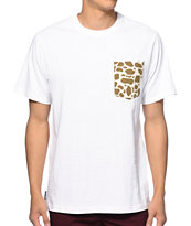 The Hundreds Giraffe Pocket Tee Shirt