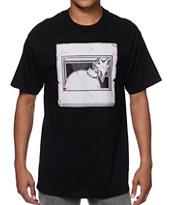 The Hundreds Halfbomb Cracked Black T-Shirt