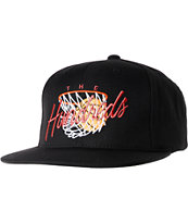 The Hundreds Hoops Black Snapback Hat