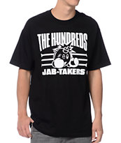 The Hundreds Jabs Black Tee Shirt