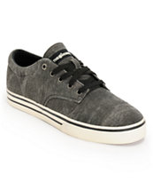 The Hundreds Johnson Low Black Jute Skate Shoe