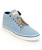 The Hundreds Johnson Mid Cloud Blue Shoe