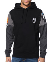 The Hundreds Kaposki Black Pullover Hoodie