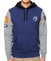 The Hundreds Kaposki Navy & Grey Pullover Hoodie