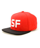 The Hundreds King SF Strapback Hat