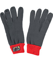 The Hundreds Manosw Grey & Black Gloves
