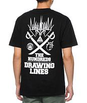 The Hundreds Mashup Black T-Shirt