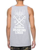 The Hundreds Mashup Heather Grey Tank Top