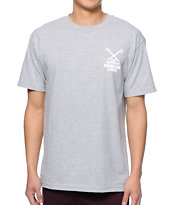 The Hundreds Mashup Heather Grey Tee Shirt