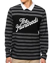 The Hundreds Mason Long Sleeve Polo Shirt