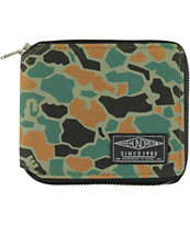 The Hundreds Montana Murky Camo Bifold Wallet