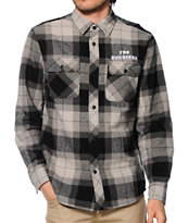 The Hundreds Nation Flannel Button Up Shirt