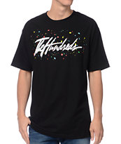 The Hundreds Paintbrush Black Tee Shirt