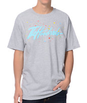The Hundreds Paintbrush Heather Grey Tee Shirt