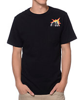 The Hundreds Peeka Tre Black Pocket Tee Shirt