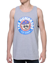 The Hundreds Piggie Tank Grey Tank Top