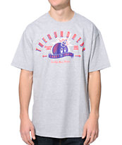 The Hundreds Quality Heather Grey Tee Shirt