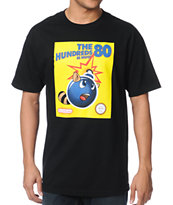 The Hundreds Raccoon Tail Black Tee Shirt