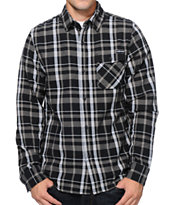 The Hundreds Ranger Black Flannel Shirt