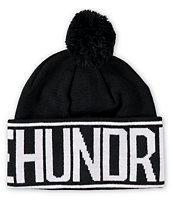 The Hundreds Rap Pom Beanie