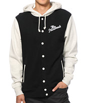 The Hundreds Raphael Fleece Varsity Jacket