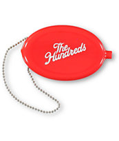 The Hundreds Red Coin Pouch Keychain