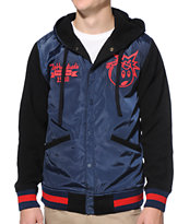 The Hundreds Reloaded Navy Jacket