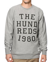 The Hundreds Report Crew Neck Sweatshirt