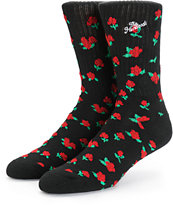 The Hundreds Roses Crew Socks