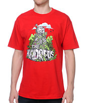 The Hundreds Ruins Red Tee Shirt