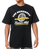 The Hundreds Rumormill Black Tee Shirt