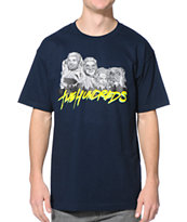 The Hundreds Rush Navy Tee Shirt