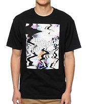 The Hundreds Scramble Slant Black Tee Shirt