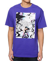 The Hundreds Scramble Slant Purple Tee Shirt
