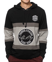 The Hundreds Skyline Long Sleeve Hooded Shirt