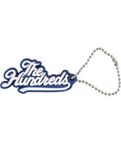 The Hundreds Slant Blue Key Chain