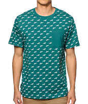 The Hundreds Slant Pocket Tee Shirt