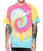 The Hundreds Slant Tie Dye Tee Shirt