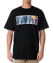 The Hundreds Splat Black Tee Shirt