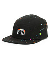 The Hundreds Sprinkle Black 5 Panel Hat